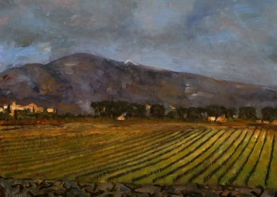 25 Mont Ventoux At Sunset – SOLD