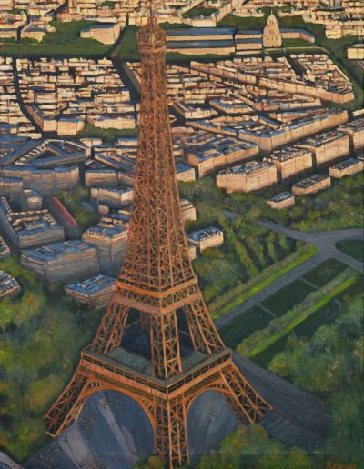 54 Eiffel Tower Air View 3 – Price 1500 €