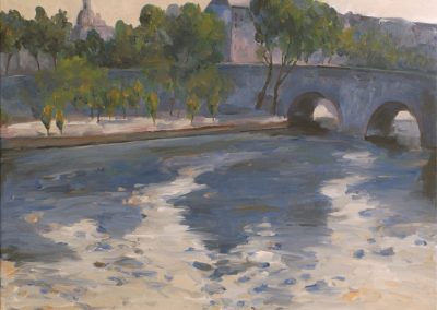 55 Pont Neuf Bridge Over The Seine River – Price 600 € SOLD