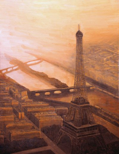 60 Eiffel Tower Air View 2 – Price 1500 €