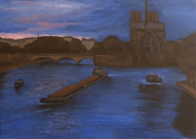 63 Notre Dame At Sunset 2 – Price 1100 €