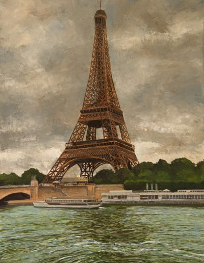 78 Eiffel Tower On A Gray Day – Price 1300 €