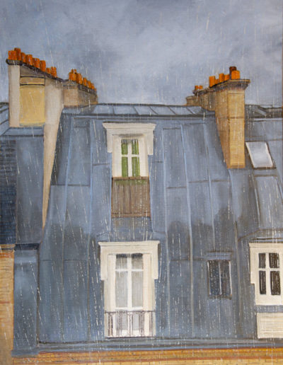 109 Rainy Paris - Price 1300 €