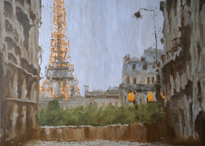 110 Rainy Paris - Price 1300 €