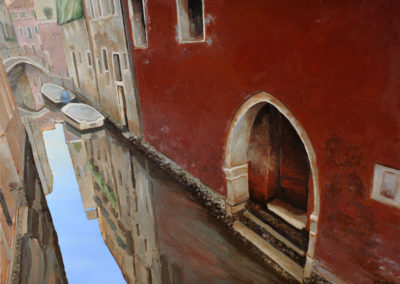 111 Venice, red wall- - Price 1800 €